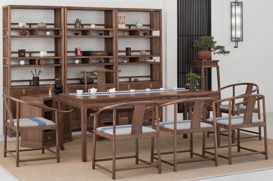 中式茶室家具