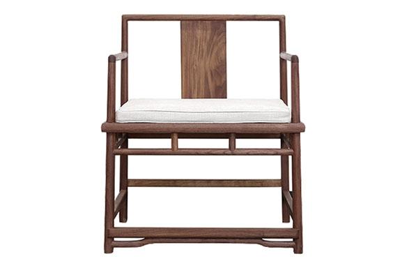 直板背靠椅